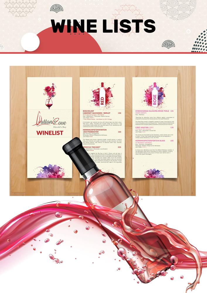 Wine-Lists